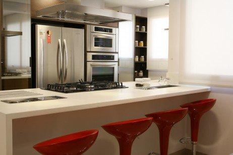 cozinha americana dá mais personalidade para sua casa