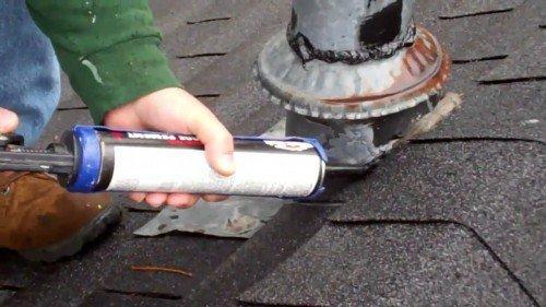 Troca de impermeabilizantes no telhado