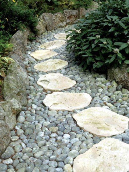 Jardim com pedras, como fazer? 2 Quartos -> Decoração De Jardim Com Pedras Grandes