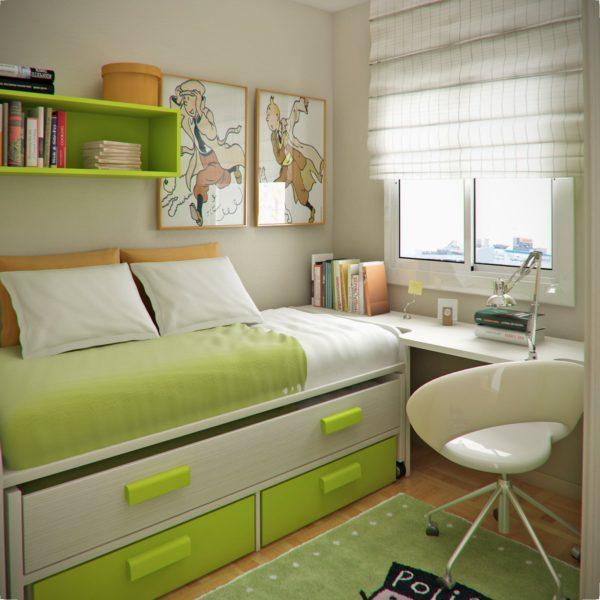 Como decorar quarto de casal pequeno gastando pouco 2 - Amueblar piso pequeno barato ...