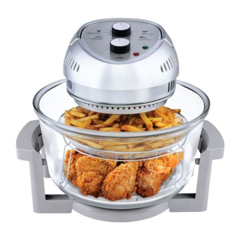 Air fryer transparente