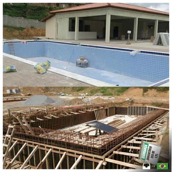 Como construir piscina de alvenaria 2 quartos - Como construir piscina ...