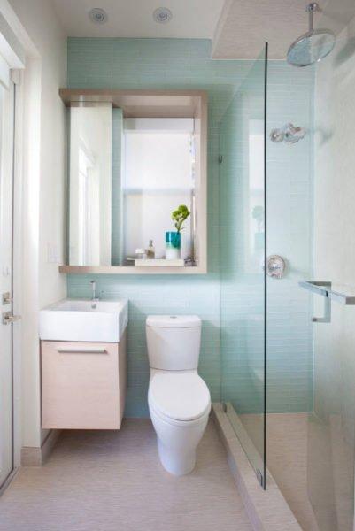 10 dicas de reforma de banheiro pequeno gastando pouco 2 for Arreglar bano pequeno