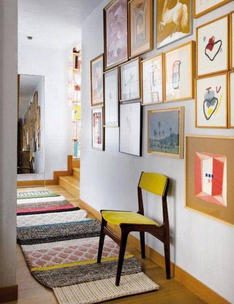 Como decorar os corredores da sua casa 2 quartos - Fotos de pasillos decorados ...